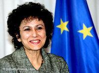 السكرتيرة العامة لأمنستي انترناشونال، إيرينا خان،  الصورة: د.ب.ا