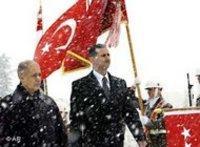 الرئيس الأسد في زيارة لأنقرة، الصورة: أ.ب