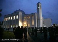 مسجد الأحمدية في ألمانيا، الصورة: د.ب.ا