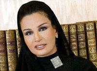 الشيخة موزة بينت ناصر المسند. صورة: أب