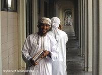 طالب من عُمان. صورة: د ب أ