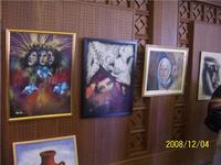 لوحات فنية معبرة عن المرأة، الصورة: مهند حامد