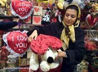 عيد الحب في إيران، الصورة: د.ب.ا