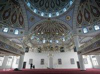 صورة من مسجد دويسبورغ في ألمانيا، الصورة: أ.ب