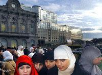 فتاة مسلمة في ألمانيا