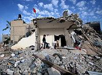 صور للدمار في غزة