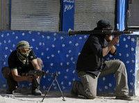 مقاتلي مقتدى الصدر، الصورة: ا.ب