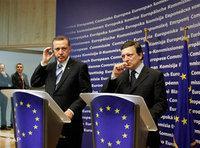 بارسو وإردوغان، الصورة: أ.ب