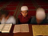 صورة لأحد طلاب المدارس الدينية في كابول، الصورة: ا.ب