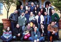 المجموعة المشاركة في المشروع الإعلامي، الصورة: موقع triangle
