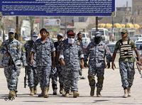 شرطيون عراقيون في معسكر تدريب، الصورة: ا.ب