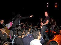 حفلة ميتال في مكتبة الإسكندرية الجديدة، الصورة: أريان فاريبورز