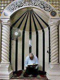 في أحد المساجد في ألمانيا