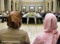 جانب من مؤتمر الإسلام الثالث في برلين