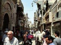 أحد أحياء القاهرة، الصورة: د.ب.ا