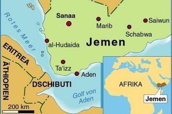 خريطة باليمن