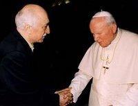 لقاء فتح الله كولن في  لقاء البابا يوحنا الثاني