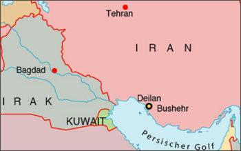 خريطة إيران