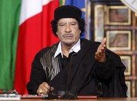 القذافي في إيطاليا