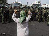 غضب الويغوريين من الحكومة المركزية في بكين، الصورة: ا.ب