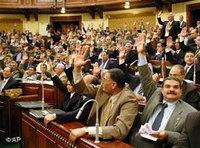 جانب من جلسات البرلمان المصري
