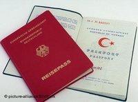 جواز سفر ألماني وتركي