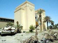 المتحف الوطني العراقي، الصورة: ا.ب