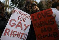 من أجل حقوق المثليين، الصورة: ا.ب