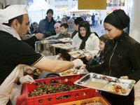 سوق أغذية،  حلال، الصورة: د.ب.ا