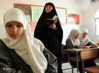 مدرسة تابعة لحز الله في لبنان، الصورة أ ب