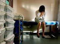 الإجهاض، صورة رمزية، الصورة أ ب/ د ب أ
