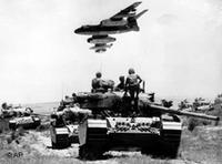 صورة إرشيفية من  حرب الأيام الستة، الصورة: ا.ب