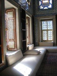 منظر داخلي في قصر توبكابي، الصورة: آريان فاريبوز