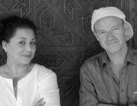 يون بالكه وأمينة علوي، الصورة: إي إس إم