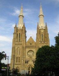 كاتدرائية جاكرتا، الصورة: آريان فاريبورز