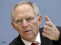 وزير الداخلية الألماني، فولفغانغ شويبله، الصورة: ا.ب
