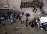 صدامات على إثر حادثة نجع حمادي، الصورة: ا.ب