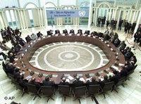 قمة بيترسببيرغ حول أفغانستان في بون، الصورة: ا.ب