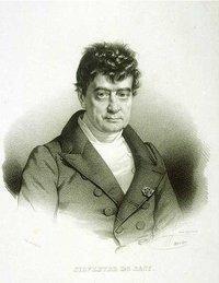 Sylvestre de Sacy (1758 - 1838) الصورة ويكيلبيديا