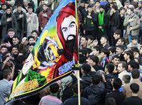 احتفاليات بيوم عاشوراء في بغداد، الصورة: ا.ب