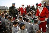 احتفالات بأعيد الميلاد في لبنان، الصورة: ا.ب