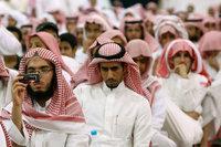 سعوديون الصورة: ا.ب