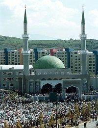 مسجد في سراييفو، الصورة: د.ب.ا