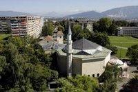 أحد المساجد في سويسرا، الصورة: د.ب.ا