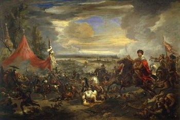 لوحة تصوِّر الحرب العثمانية الكبرى من عام 1683، الصورىة: ويكيبيديا