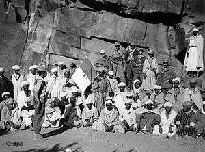 مقاومون جزائريون من جبهة التحرير الوطنية عام 1960، الصورة د ب أ