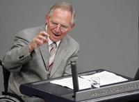 وزير الداخلية الألماني السابق فولفغانغ شويبله، الصورة أ ب