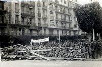 متاريس في شوارع الجزائر العاصمة خلال حرب الاستقلال عام 1960، الصورة: ميشل ماركوس/ ويكيبيديا