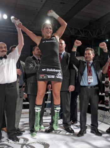 رولا حلبي، بطلة أوروبية وعالمية  الصورة دويتشه فيله