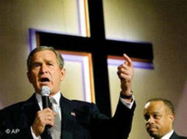 جورج بوش، الصورة أ.ب